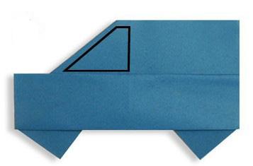 diy折纸小汽车高清图片