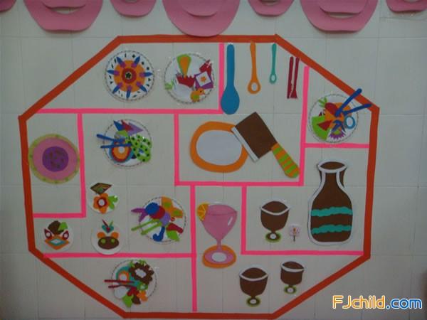 中心幼儿园主题环境创设