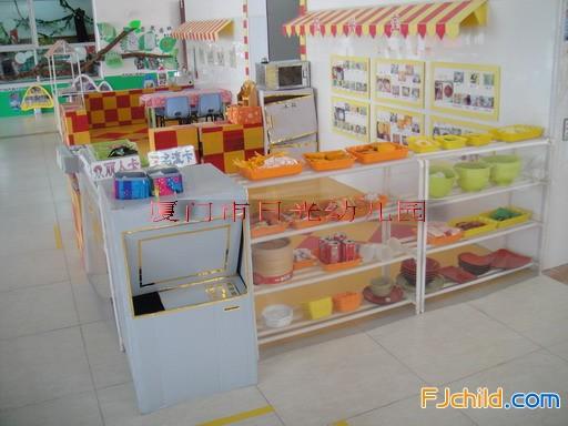 厦门市日光幼儿园角色游戏区角设计 小吃店