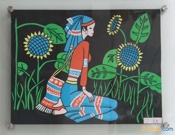 玉佩侨育小金星幼儿园教师美术作品欣赏