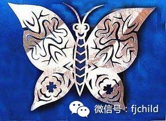 手工制作 剪纸蝴蝶