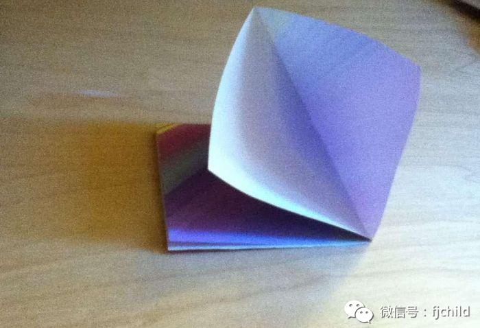 手工制作 折纸玫瑰花图解