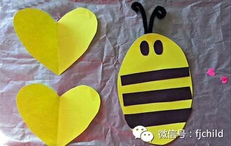 手工制作 超萌蜜蜂剪纸